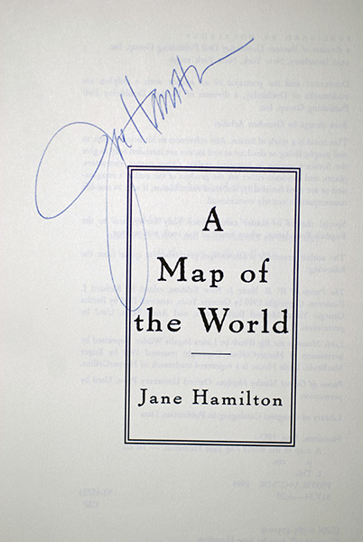 Image for A Map Of The World (Signed 1st Printing)
