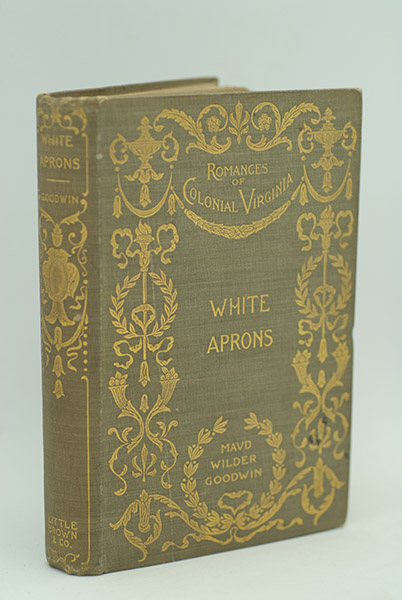 Image for White Aprons: A Romance of Bacon's Rebellion-Virginia 1676