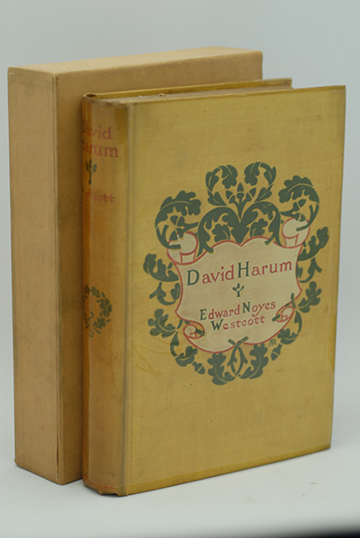 Image for David Harum: A Story Of American Life (True 1st Printing)