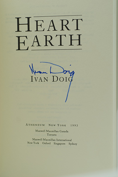 Image for Heart Earth: A Memoir (Signed)