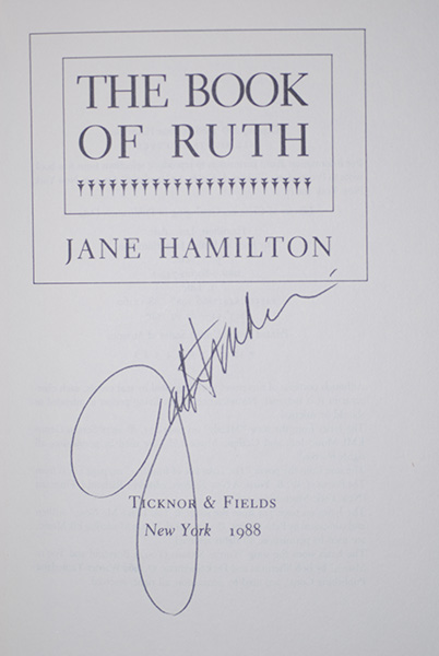 Image for The Book Of Ruth (Signed 1st Printing)