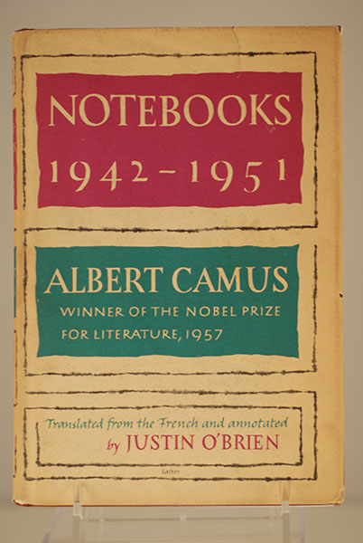 NOTEBOOKS 1942 - 1951 (First American Edition)