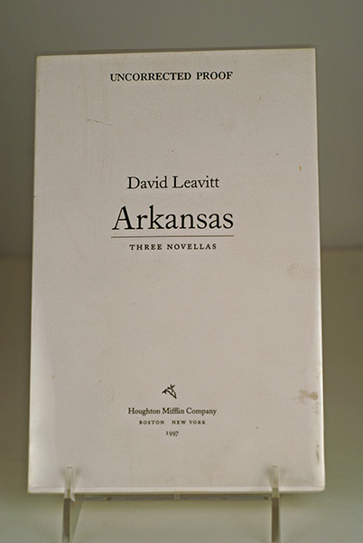 Image for ARKANSAS- (Uncorrected Proof)