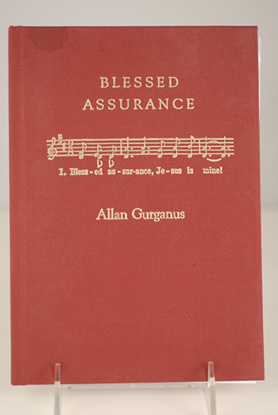 Image for Blessed Assurance: A Moral Tale (Limited- Inscribed to Director Paul Bartel)