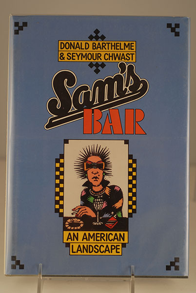 Image for Sam's Bar/an American Landscape