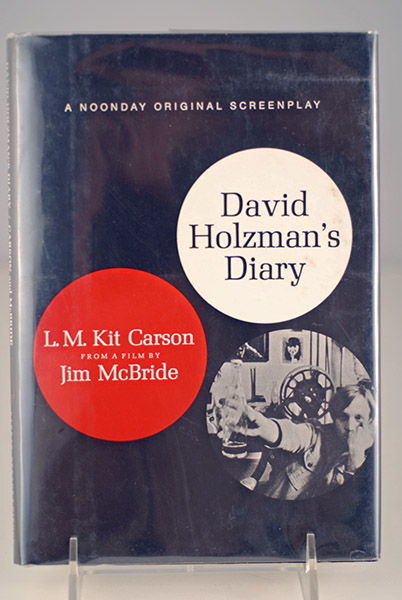 Image for David Holtzman's Diary (First American Edition)