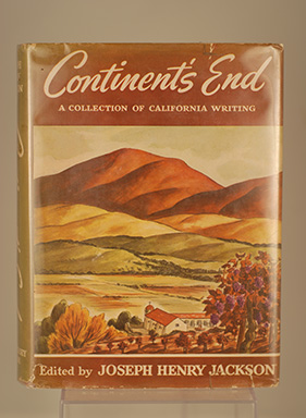 Image for CONTINENT'S END (A Collection of California Writing)