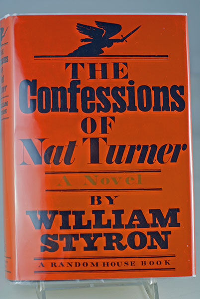 Image for THE CONFESSIONS OF NAT TURNER (Signed First Print)