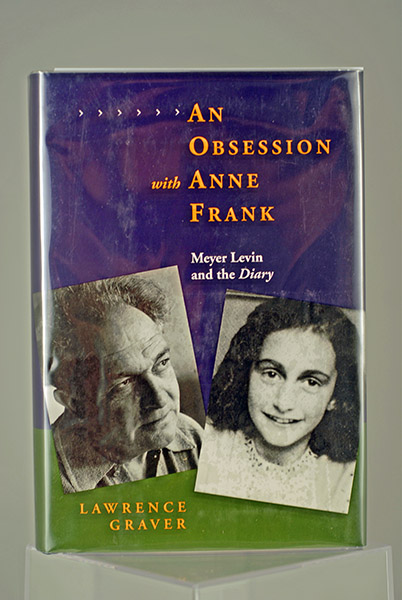 Image for An Obsession With Anne Frank: Meyer Levin and the Diary (First Printing)