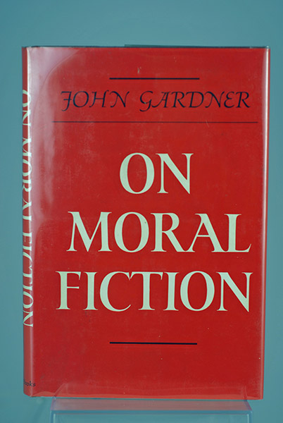 Image for On Moral Fiction (Signed First Printing)