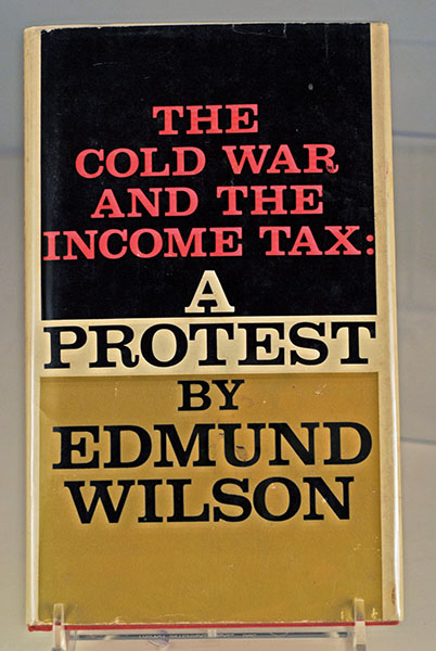 Image for THE COLD WAR AND THE INCOME TAX- A PROTEST