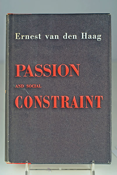 Image for PASSION AND SOCIAL CONSTRAINT (Rare)