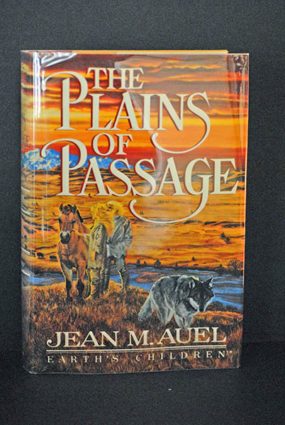 Image for The Plains of Passage (Signed  1st Printing)