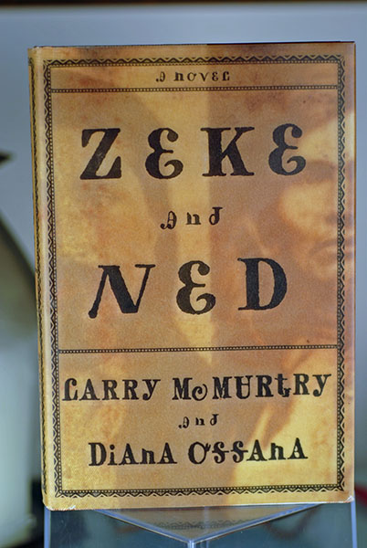 Image for Zeke and Ned: A Novel (Signed by McMurtry)