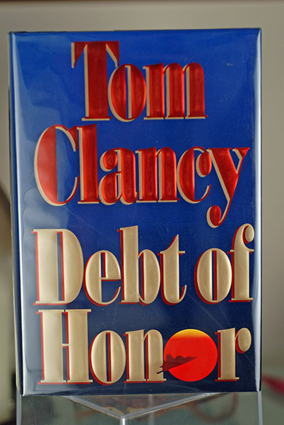 Image for Debt Of Honor (Signed First Printing)