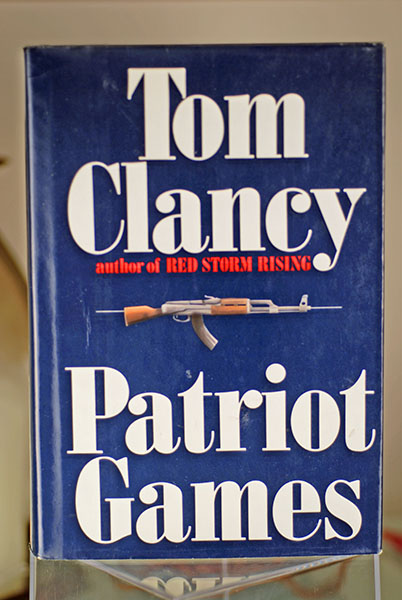 Image for Patriot Games (Signed First Print)