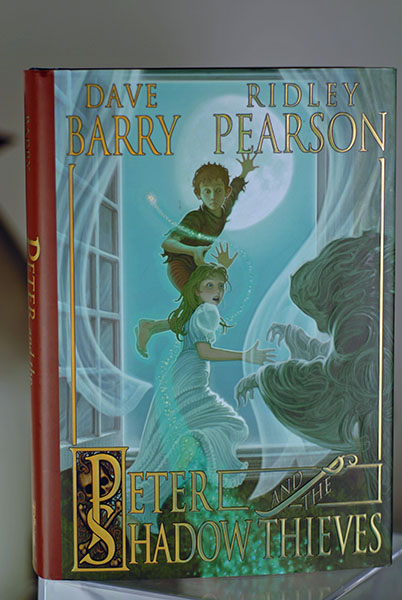 Image for Peter and The Shadow Thieves (Signed First Printing)