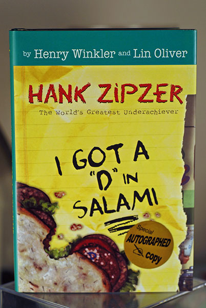 "Image for I Got A ""D"" In Salami (Hank Zipzer-The World's Greatest Underachiever) Signed"