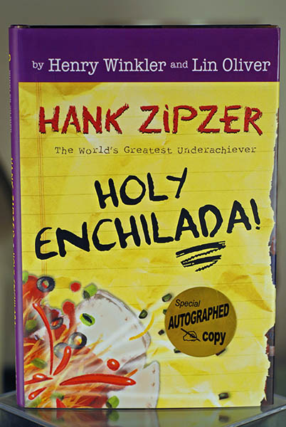 "Image for Holy Enchilada (A Hank Zipzer Book-The World's Greatest Underachiever) Signed by the ""Fonz"""