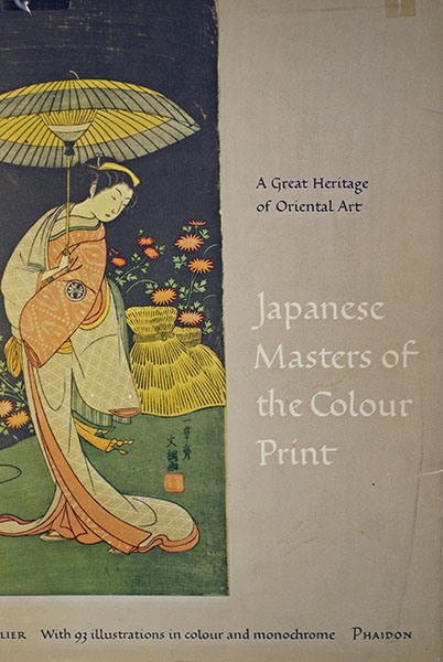 Image for Japanese Masters of the Colour Print (First American Printing)