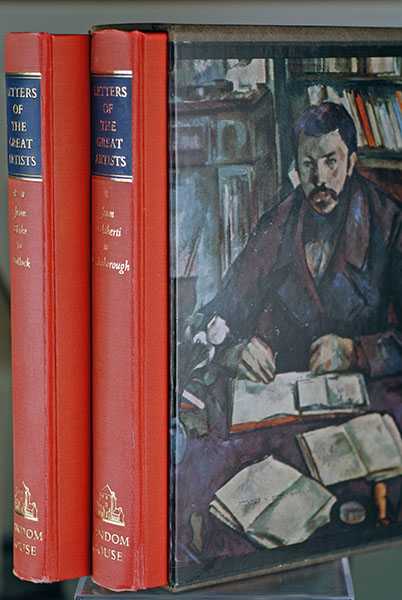 Image for Letters of the Great Artists: Two Volumes in Slipcase