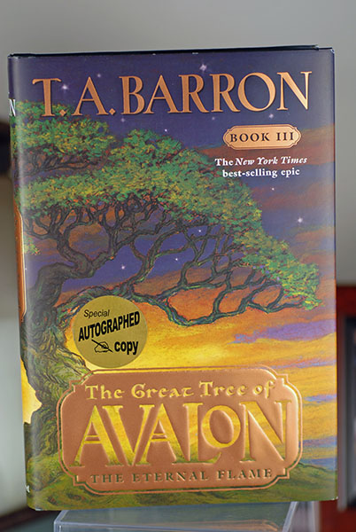 Image for The Great Tree of Avalon: The Eternal Flame (Signed First Print)