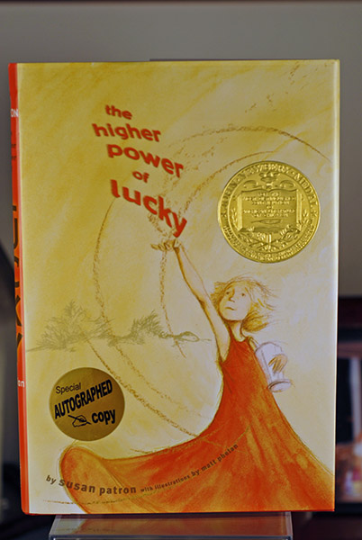 Image for The Higher Power of Lucky (Signed Gold Newbery)