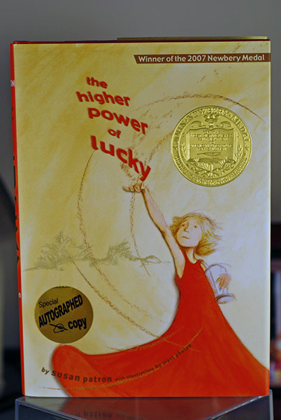 Image for The Higher Power of Lucky (Signed Newbery Gold)