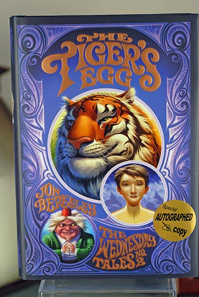 Image for The Tiger's Egg- The Wednesday Tales No. 2 (Signed first Print)