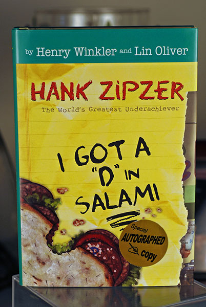 "Image for I Got A ""D"" In Salami- A Hank Zipzer Book (Signed)"