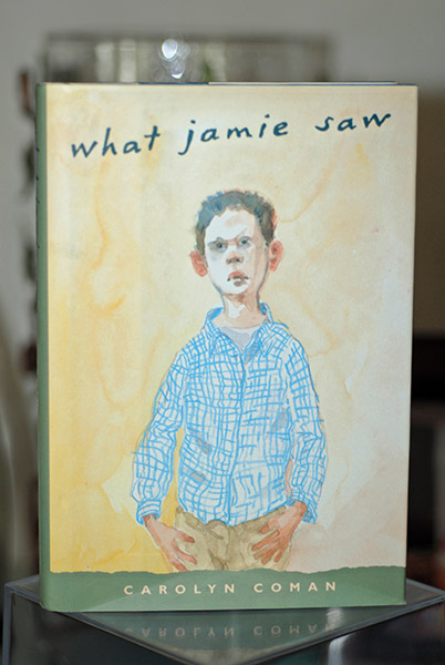 Image for What Jamie Saw (Newbery First Print)