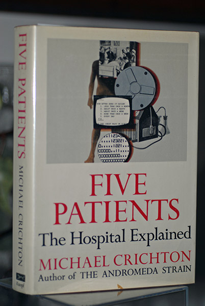 Image for Five Patients- The Hospital Explained (First Printing)