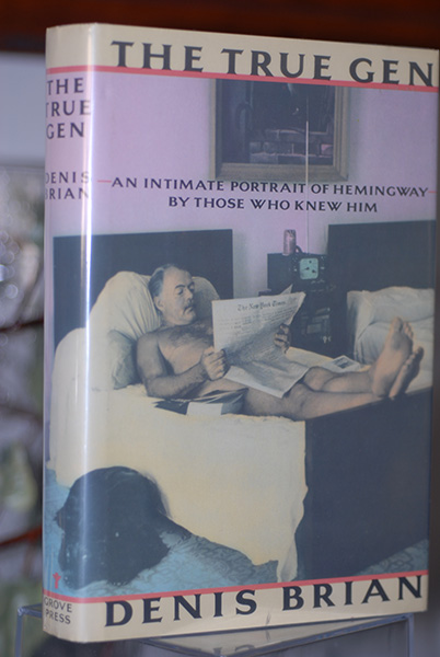 Image for The True Gen: An Intimate Portrait of Enest Hemingway by Those Who Knew Him (First Print)