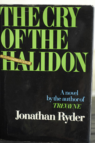 Image for The Cry of The Halidon   (First Printing)