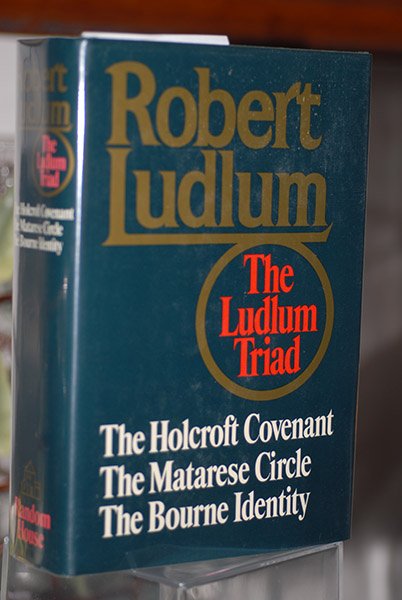 Image for The Ludlum Triad: The Holcroft Covenant, The Matarese Circle, and the Bourne Identity (Signed by Author)