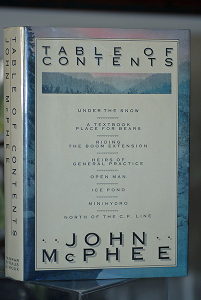 Image for Table of Contents (Signed First Printing)