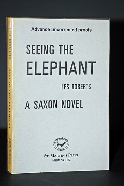 Image for Seeing The Elephant (Signed Advanced Uncorrected Proof)