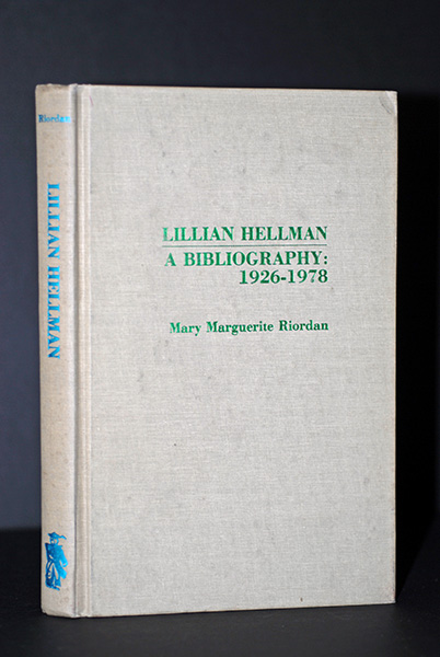Image for Lillian Hellman,   A Biography, 1926-1978