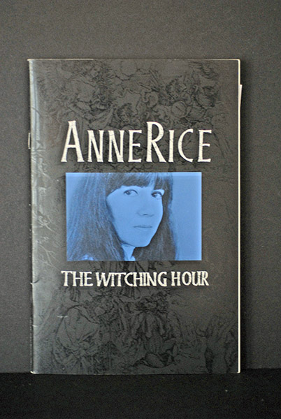 Image for The Witching Hour (Signed Pre-Publication Copy of 1st Chapter)