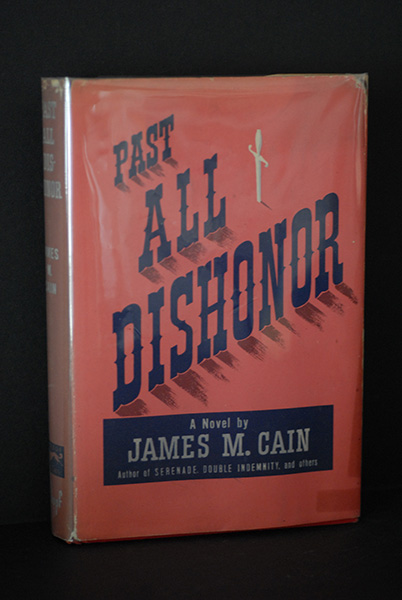 Image for Past All Dishonor (First Printing)
