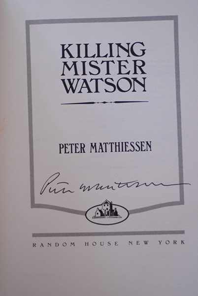 Image for Killing Mister Watson (Signed First Print)