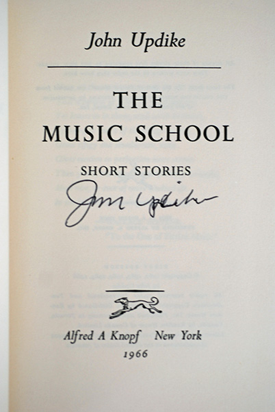 Image for The Music School (Signed First Printing)
