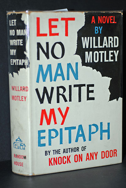 Image for Let No Man Write My Epitaph