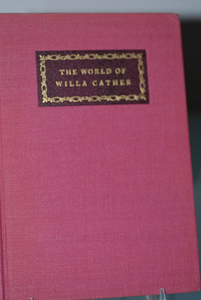 Image for The World of Willa Cather