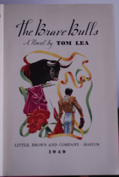 Image for The Brave Bulls (Signed First Printing)