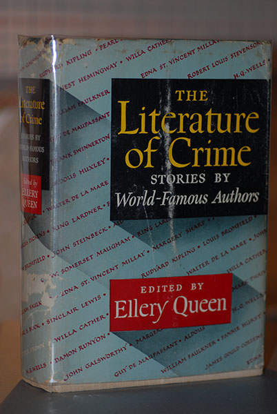 Image for The Literature of Crime (Signed by Queen)