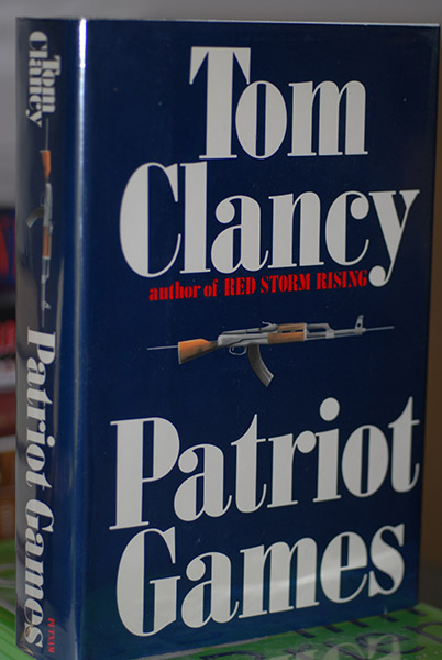 Image for Patriot Games (First State-First Printing--Signed)