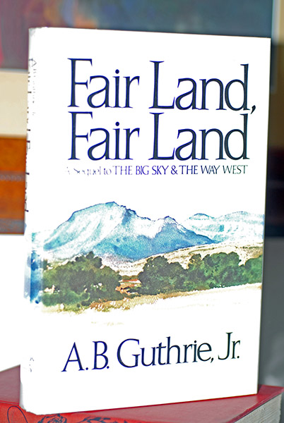 Image for Fair Land, Fair Land