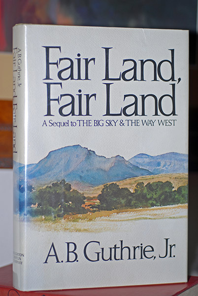 Image for Fair Land, Fair Land (Signed)