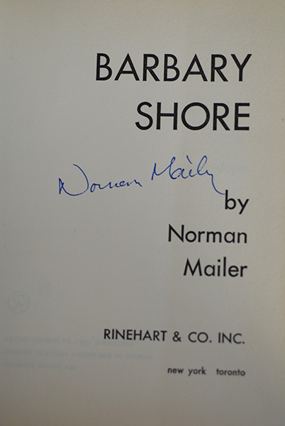Image for Barbary Shore (Signed 1st Printing)